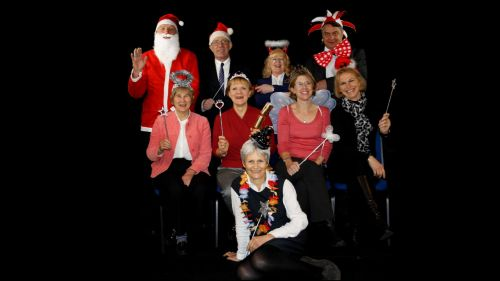 Focus Pictures Xmas team black background Dec 2013